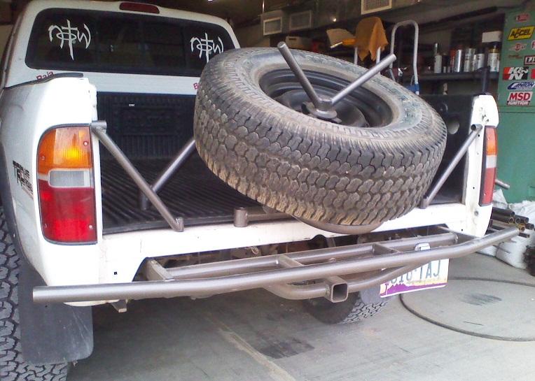 1993 toyota truck rear bumper